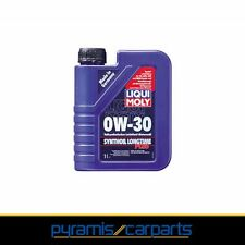 NUOVO 1x LIQUI MOLY Synthoil Longtime PLUS 0 w-30 - OLIO MOTORE - 1 L 1150 (EUR 24,15/l)