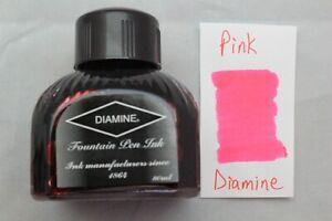 Diamine 80ml Fountain Pen Bottled Ink Pink