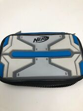 Nintendo 3DS DS Nerf Armor System Console carrying Case Black & Blue