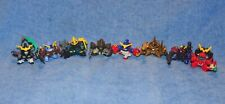 2003 Bandai Mini Gundam Robot Figure Lot Excellent Condition