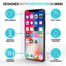 Front + Back and Camera Lens 9H Tempered Glass Screen Protector For iPhone X