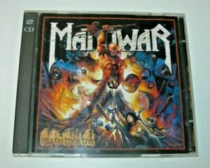 Manowar: Hell on Stage Live 2 CD Nuclear Blast 1999