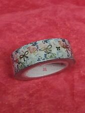 The Pink Room Floral With Gold Bows Washi Tape New