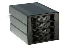 "Norco SS-400 4-Bay SATA/SAS Hot Swap Rack Module Convert 3x5.25""to 4x Hot Swap"