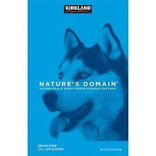 Kirkland Signature Nature's Domain Salmon Meal & Sweet Potato Dry Dog Food 35...
