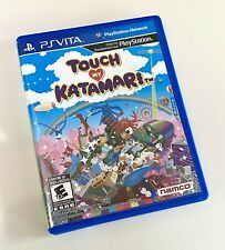 Touch My Katamari (Sony PlayStation Vita, 2012). Great Condition!