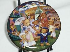 Teddy Bear Fair Franklin Mint Heirloom Collector Plate