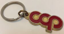 Vintage Car Dealership Promo Keychain CHICOUTIMI CHRYSLER PLYMOUTH Porte-Cle CCP