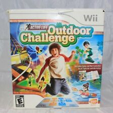 Active Life: Outdoor Challenge (Nintendo Wii, 2008) Mat and Game Complete