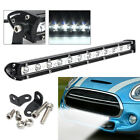 13Inch 36W White 12 LED Spot Combo Lamp Bulb Driving Offroad Work Light Bar SUV