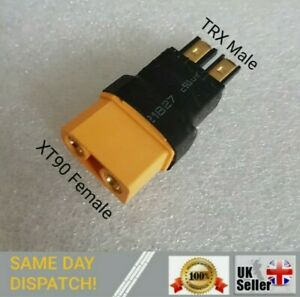 XT90 Female to TRX Male Adapter Converter Connector lipo battery Adaptor RC