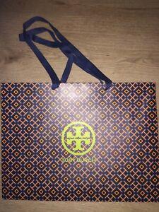 "Tory Burch Empty Shopping Paper Gift Bag 16""L x 12""H x 6""W"