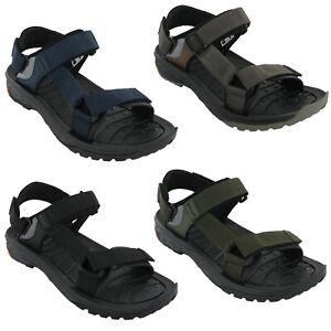Hi-Tec Mens Ula Raft Walking Shoes Sandals Orange Sports Outdoors Breathable