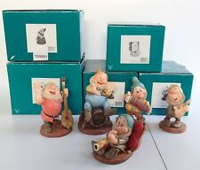 5 WDCC Snow White Dwarfs ZZZ Happy Doc Cheerful Leader Aw Shucks Ah-Choo Bundle