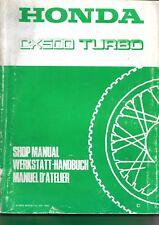 honda cx 500 turbo manuel atelier   WORSHOP MANUAL  manual atelier
