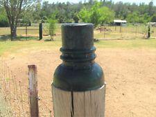 Threadless Insulator Scarce CD738 No name EARLY & CRUDE Civil War era