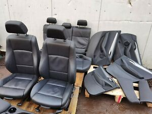 BMW X1 E84 M-SPORT BLACK LEATHER INTERIOR AND DOOR CARDS