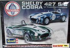 REVELL SHELBY COBRA 427  PRODUCTION CHAMPIONS MODEL KIT FACTORY SEALED