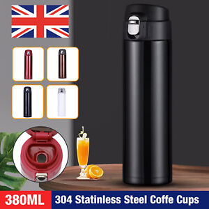 Travel Thermal Stainless Steel Insulated Coffee Cup Mug Flask Vacuum Leakproof