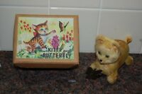 RARE Kitty and Butterfly  Made in Japan. (LATE 1940'S EARLY 1950'S)