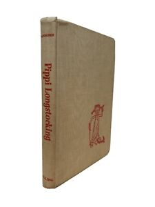 Vintage Pippi Longstocking Hardcover Book 1969 16th Printing Viking Press