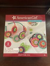 American Girl Crafts Fabric Flower Style Set Headbands & Hair Clips Accessories