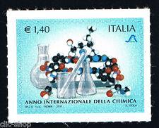 ITALIA 1 FRANCOBOLLO ANNO INTERNAZIONALE DELLA CHIMICA 2011 nuovo**