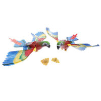 Colorful bird parrot toy electric sound fly wing bird animals toys for kids  IY