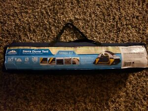 Northwest Territory Sierra Dome Tent Camping, Hiking Up To 3 Person - Blue