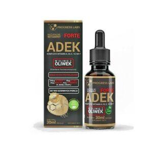 Progress Labs Vitamins Complex ADEK 30ml - 900 Drops - A, D3, E, K2 MK-7