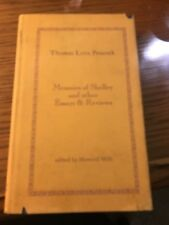 Memoirs of Shelley and other Essays & Reviews by Thomas Love Peacock (1970 HC)