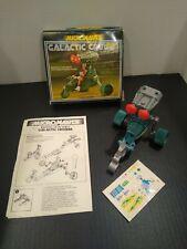 MICRONAUTS- Galatic Cruiser + Box, instructions and stickers.