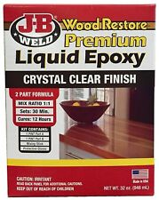 JB Weld Wood Repair Restore Damage Liquid Premium Epoxy Adhesive Seal Kit 32 oz.