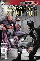 Superman Comic 9 World Of New Krypton Cover A Gary Frank First Print 2009 DC