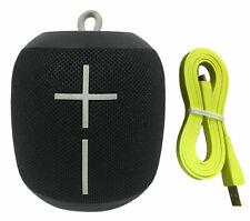 Ultimate Ears UE WONDERBOOM Waterproof Bluetooth Portable Speaker Phantom Black