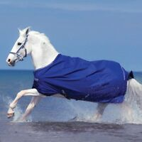 Horseware Amigo Hero 6 Turnout lite 0g - Atlantic Blue - Weide-/ Regendecke