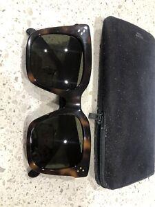 CELINE Square Sunglasses - Tortoise Shell - Very Good Condition!