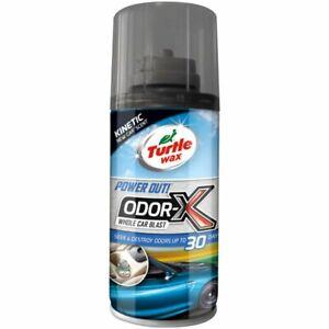 TURTLE WAX Odor-X Car Blast Air Freshener & Odour Bomb Remover New Car Scent