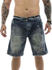 Distressed Herren-Straight-Cut-Jeans mit niedriger Bundhöhe (en) Hosengröße W33