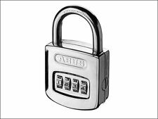 ABUS - 160/50 50mm Combination Padlock ( 4 Digit) Steel Case Die Cast Body