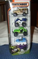 NEW! Matchbox on a Mission: Mountain 5-Pack Vehicles ~More Listed~New in Package