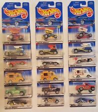 Lot Of 18 Hot Wheels 3 Variations Per Car (6 Different Models) 1998-2000 B6