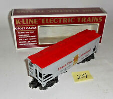 VINTAGE 1992 K-line K900021C Trains Collector's Club Car HOPPER CAOL CAR 24