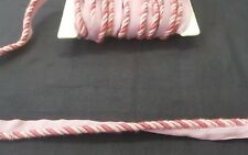 Pink Flanged Piping Cord per metre 7mm