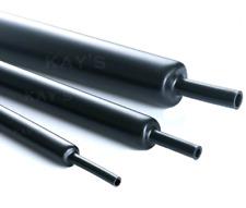 1m Metros 10mm Black CALOR SHRINK Tubo / Tubería / Manga Alambre / envoltura de cable / cubierta