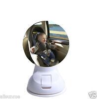 360° Car Children Kids Baby Back Seat Mirror Rear View Adjustable Safety Sucker