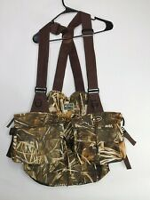 Drake Waterfowl System Wading/Turkey Vest In Mossy Oak Duck Blind-Very Good Cond