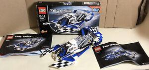 Lego Technic Hydroplane Racer (42045) Box & Instructions