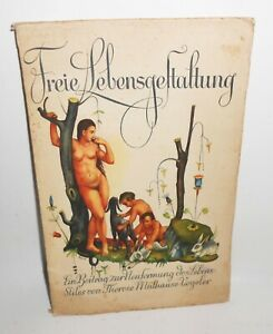Therese Mülhause-Vogeler - Freie Lebensgestaltung Akt Nude Naked Nackte 1926 (B2