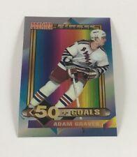 1994 Topps Hockey Card Premier Finest Adam Graves (Rangers) LB02